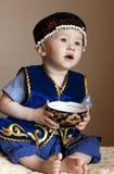 Ragazzo del Kazakh Fotografia Stock