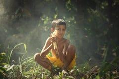 Ragazzo del ` s di speranza Fotografia Stock Libera da Diritti