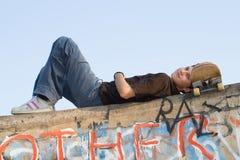 Ragazzo dell'adolescente Fotografie Stock