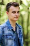 Ragazzo dell'adolescente all'aperto Immagine Stock Libera da Diritti