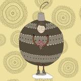 Ragazzo della bagattella di Natale royalty illustrazione gratis