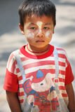 Ragazzo della Birmania Immagini Stock