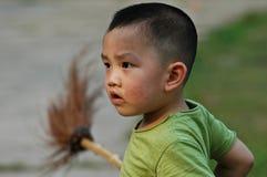Ragazzo della Cina Fotografia Stock