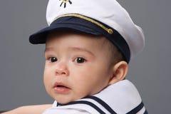 Ragazzo della marina Immagini Stock