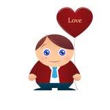 Ragazzo di amore royalty illustrazione gratis