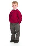 Ragazzo di banco in uniforme Fotografie Stock Libere da Diritti