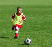 Ragazzo di calcio Fotografie Stock