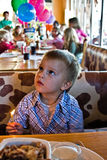 Ragazzo di compleanno Immagine Stock