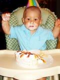 Ragazzo di compleanno Fotografia Stock