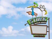 Ragazzo di consegna di riserva Immagine Stock Libera da Diritti
