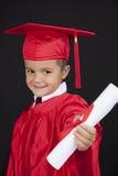 Ragazzo di graduazione Immagine Stock