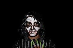 Ragazzo di Halloween fotografia stock