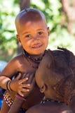 Ragazzo di Himba Fotografia Stock Libera da Diritti