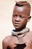 Ragazzo di Himba nel Namibia Fotografie Stock Libere da Diritti