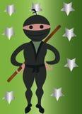 Ragazzo di Ninja Immagini Stock