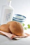 Ragazzo di Roti (pane malese) immagini stock libere da diritti