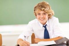Ragazzo di scuola secondaria Fotografie Stock Libere da Diritti