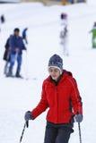 Ragazzo felice che gode nella neve Immagine Stock Libera da Diritti