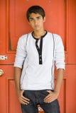 Ragazzo indiano adolescente fotografia stock libera da diritti