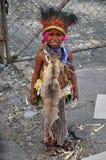 Ragazzo indigeno immagine stock libera da diritti