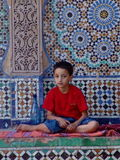 Ragazzo marocchino fotografie stock libere da diritti
