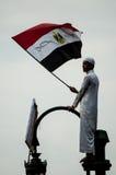 Ragazzo nella rivoluzione araba Immagine Stock