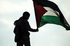 Ragazzo nella rivoluzione araba Fotografie Stock Libere da Diritti