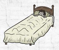 Ragazzo spaventato royalty illustrazione gratis
