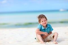 Ragazzo sulla vacanza Fotografia Stock