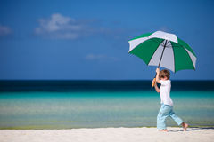 Ragazzo sulla vacanza Fotografie Stock