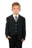 Ragazzo in vestito Fotografia Stock Libera da Diritti