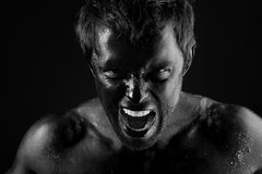 Rage Royalty Free Stock Images