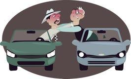Rage de route Photos libres de droits