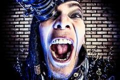 Rage emotion Royalty Free Stock Photo
