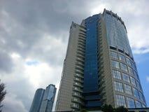 Ragen 2000, Geschäftszentrum Moskau-Stadt, Moskau hoch Lizenzfreies Stockbild