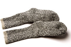 Ragg wool sox Stock Photos