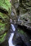 Raggaschlucht, Flattach, Carinthia, Австрия Стоковые Фото