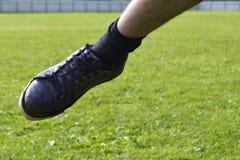 Ragged πάνινο παπούτσι Στοκ Φωτογραφία