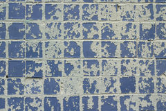 Ragged blue mosaic  background Stock Images