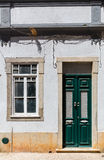 Ragged building Stock Image