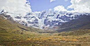 Ragged Mountain landscape of Peru Stock Image