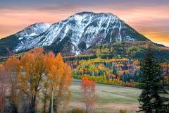Ragged peak Royalty Free Stock Images