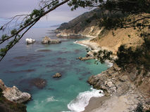 Ragged Point. In Big Sur country Royalty Free Stock Image