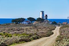 Piedras Blancas Lighthouse stock images