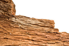 Ragged tree bark inner side Royalty Free Stock Photo