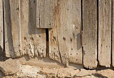 Ragged Vintage Barn Wood Boards Stock Images