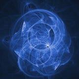 Raggi blu di caos royalty illustrazione gratis