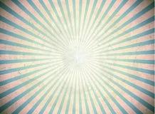 Raggi d'annata blu Immagine Stock Libera da Diritti