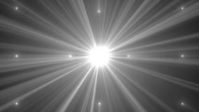 Raggi dalla luce del punto sottragga la priorità bassa stock footage