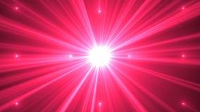 Raggi dalla luce del punto sottragga la priorità bassa video d archivio